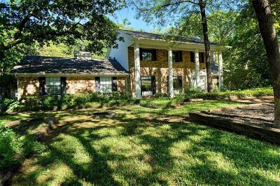 Keller Single Family Home For Sale: 1104 Oakwood Circle