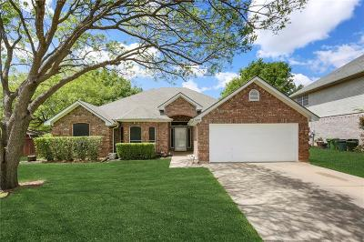Hurst Single Family Home Active Option Contract: 3301 Glade Creek Drive