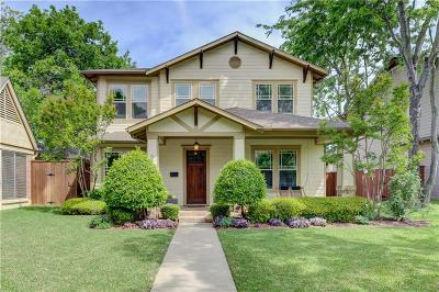Dallas County Single Family Home For Sale: 5915 Llano Avenue