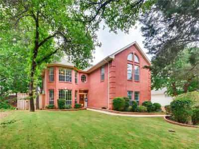 Grapevine Single Family Home For Sale: 2925 River Crest Street