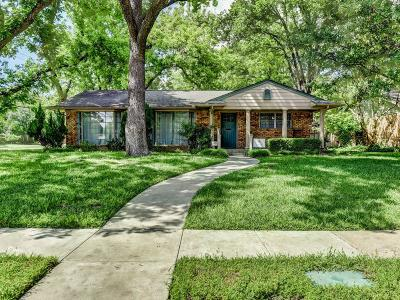 Lake Highlands Single Family Home For Sale: 9805 Buxhill Drive