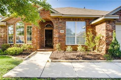 Sachse Single Family Home For Sale: 6226 Fieldcrest Lane