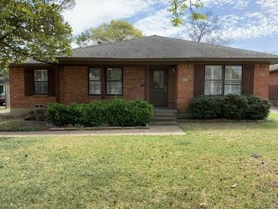 Dallas Single Family Home For Sale: 8851 Liptonshire Drive