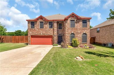 Lewisville Single Family Home For Sale: 1709 Glen Hollow Circle