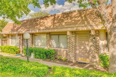 Irving Townhouse Active Option Contract: 4403 Tophill Lane