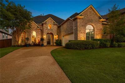 Plano Single Family Home Active Contingent: 8212 Barrymoore Lane