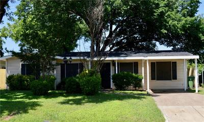 Richland Hills Single Family Home Active Option Contract: 2817 Gumwood Park Drive