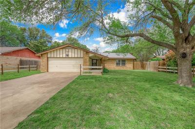 Denton Single Family Home For Sale: 3507 Hummingbird Lane