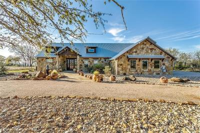 Palo Pinto County Single Family Home For Sale: 550 Post Oak Road