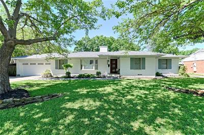 Farmers Branch Single Family Home Active Contingent: 3055 Phyllis Lane