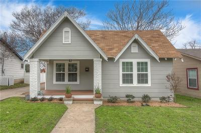 Fort Worth Single Family Home For Sale: 2920 Ryan Avenue