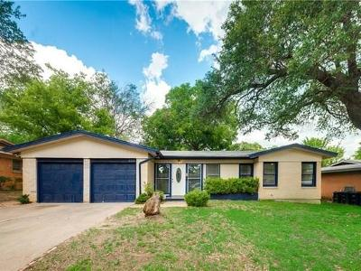 Fort Worth Residential Lease For Lease: 6225 Kentwood Place