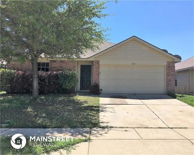 Fort Worth Residential Lease For Lease: 1420 Castle Ridge Road