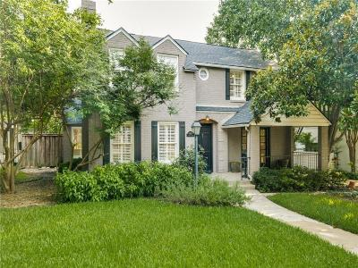Dallas Single Family Home For Sale: 6835 Lorna Lane
