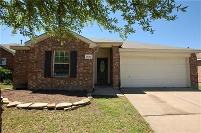 Forney Single Family Home For Sale: 2022 Wildwood Drive