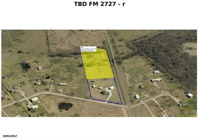 Kaufman Residential Lots & Land For Sale: 0000 Fm 2727