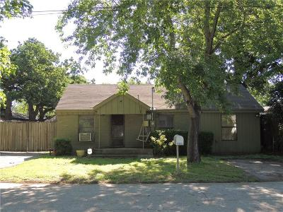 Irving Single Family Home For Sale: 1322 Richland Street