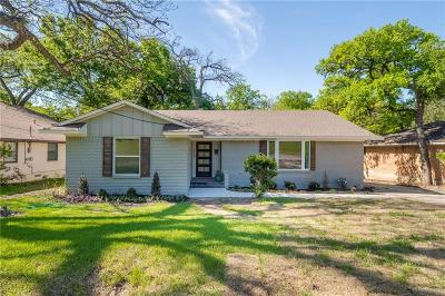 Dallas County Single Family Home For Sale: 2464 El Cerrito Drive