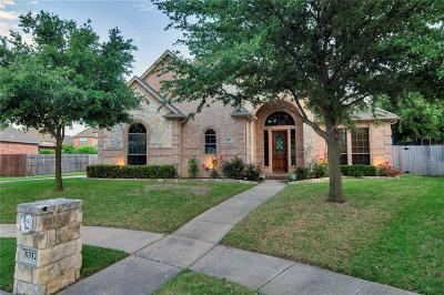 North Richland Hills Single Family Home For Sale: 8312 Fern Leaf Court