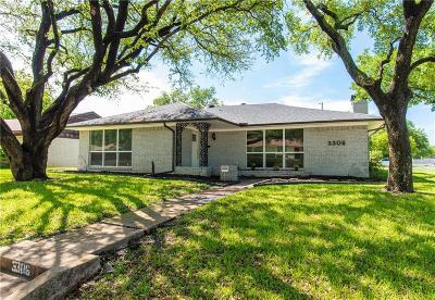 Dallas Single Family Home For Sale: 3306 Kinkaid Drive