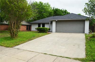 Sachse Single Family Home For Sale: 3910 Lillie Street
