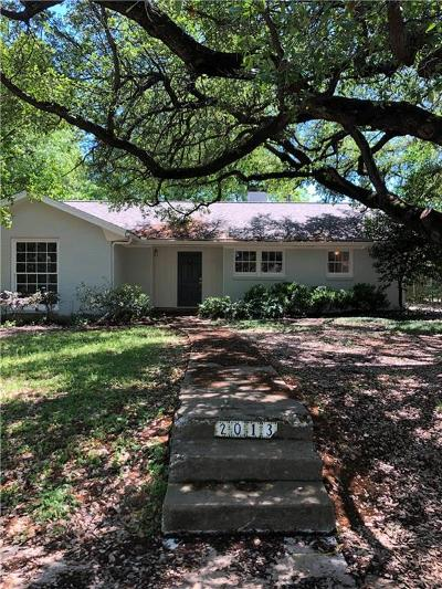Fort Worth Residential Lease For Lease: 2013 Huntington Lane