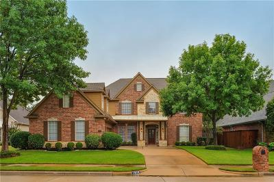 Keller Single Family Home For Sale: 1618 Forest Bend Lane