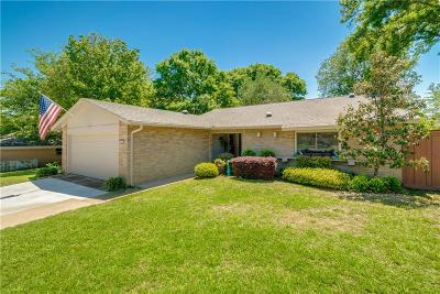 Plano Single Family Home Active Option Contract: 12 Eastport Place