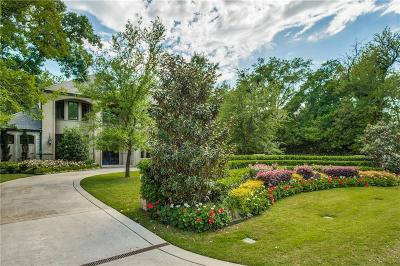 Dallas Single Family Home For Sale: 4418 Brookview Drive
