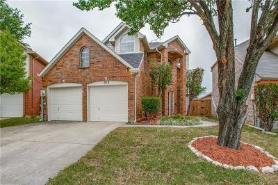Lewisville Single Family Home For Sale: 912 Golden Grove Drive
