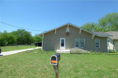 Eastland TX Single Family Home For Sale: $96,500