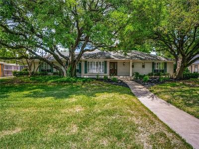 Dallas County Single Family Home For Sale: 5805 Lindenshire Lane