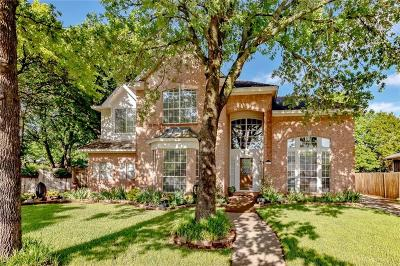 Keller Single Family Home For Sale: 1540 Edinburgh Lane