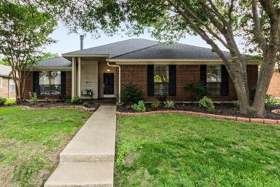 Allen Single Family Home Active Option Contract: 1541 Sunflower Drive