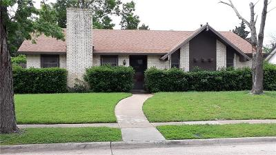 Lewisville Single Family Home Active Option Contract: 1308 Cherry Hill Lane