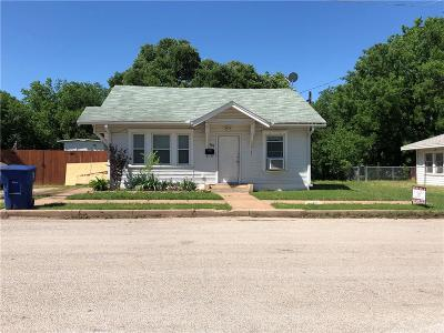 Brownwood Single Family Home For Sale: 905 1st Street