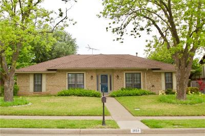 Richardson Single Family Home For Sale: 1819 Colgate Drive