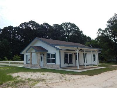 Quitman Single Family Home For Sale: 100 County Road 2154