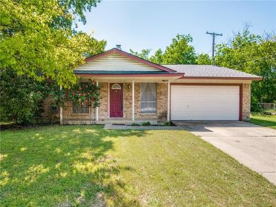 Denton Single Family Home Active Contingent: 3529 Valley View Road