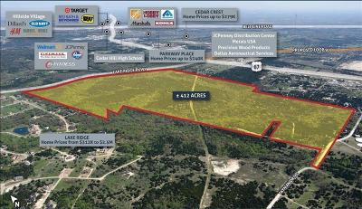 Dallas County, Ellis County Residential Lots & Land For Sale: 1900 Lake Ridge Parkway