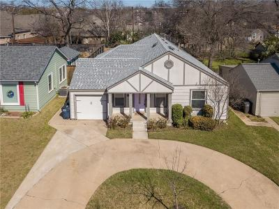 Arlington Heights Single Family Home For Sale: 4932 Birchman Avenue