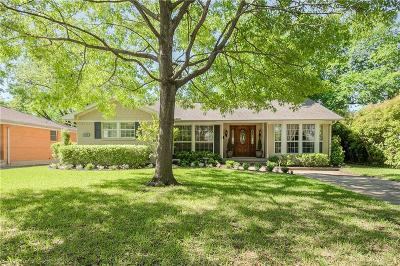 Richardson Single Family Home For Sale: 625 Downing Drive