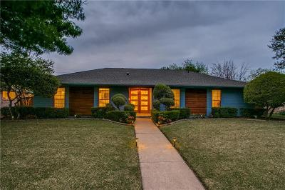 Plano Single Family Home Active Option Contract: 2521 Stonemoss Drive