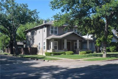 Dallas County Single Family Home For Sale: 5301 Miller Avenue