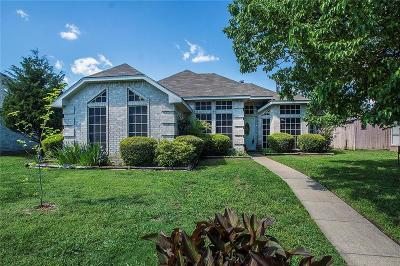 Wylie Single Family Home Active Contingent: 1303 Old Knoll Drive