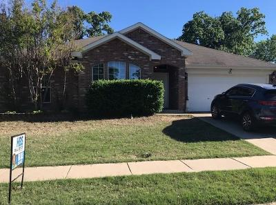 Azle Single Family Home Active Option Contract: 544 Harbor Crest Road