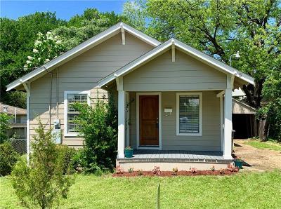 Dallas Single Family Home For Sale: 2207 Arroyo Avenue