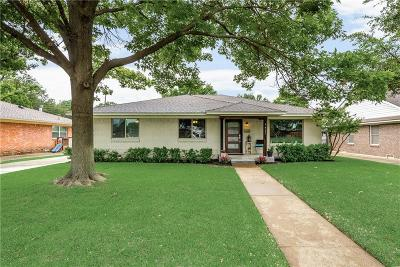 Lake Highlands Single Family Home Active Contingent: 9427 Lynngrove Drive