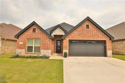 Abilene Single Family Home Active Contingent: 5841 Legacy Drive