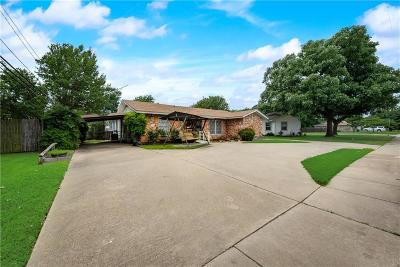 Burleson Single Family Home Active Option Contract: 421 NW Renfro Street NW